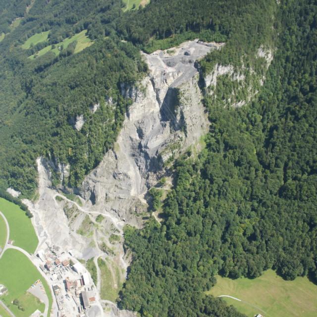Steinbruch Haltengut