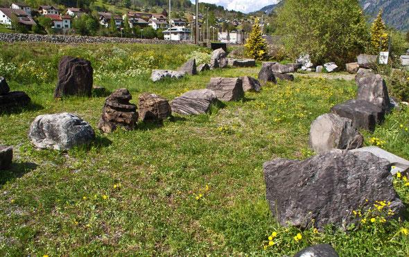 Steinsammlung Knobel