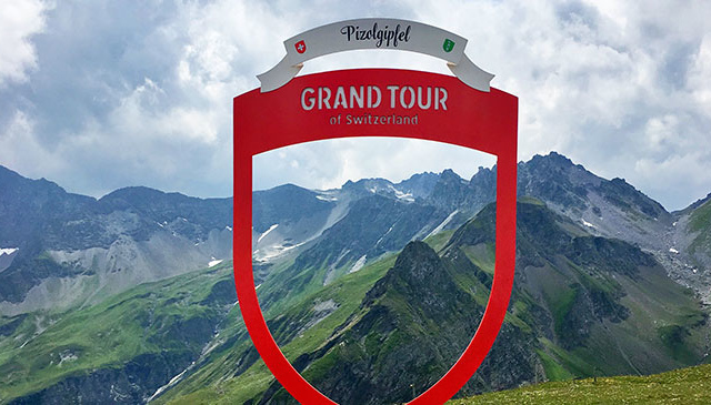 Grand Tour of Switzerland Fotospot Pizol