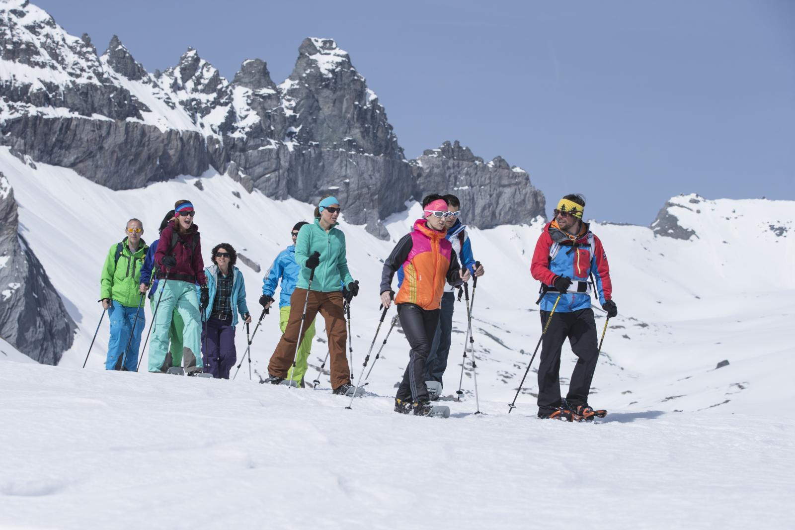 Winter im Welterbe Sardona